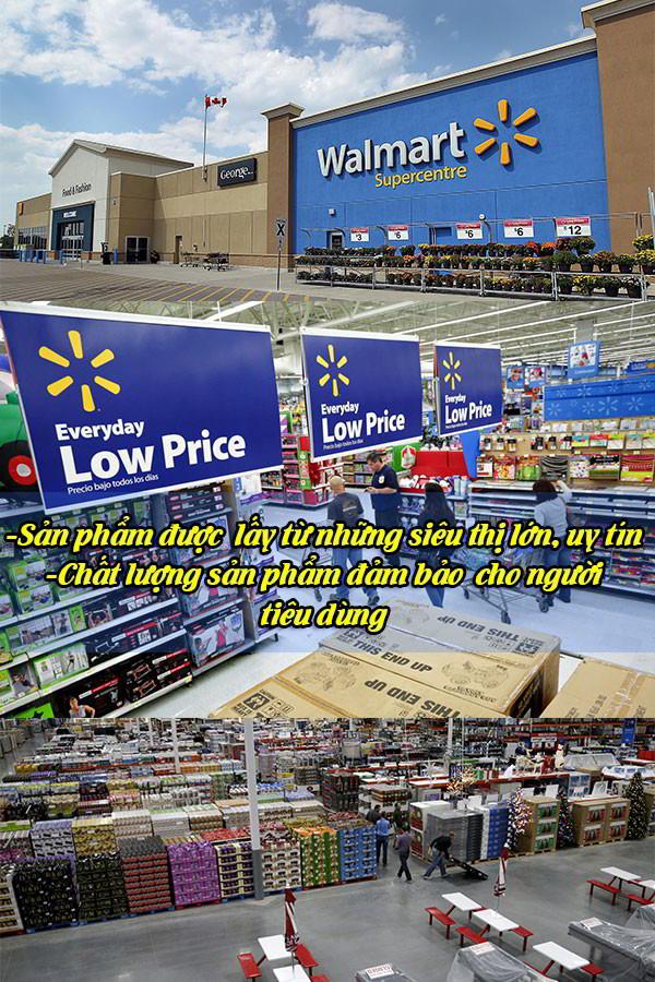 Sản phẩm sữa Ensure được mua từ những siêu thị hàng đầu thế giới