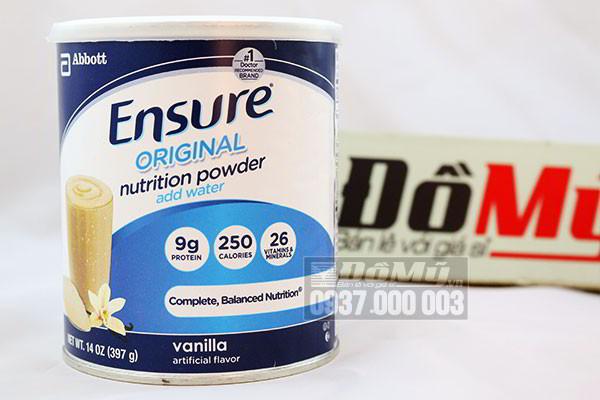 Những cách nhận biết sữa bột ensure giả hay thật