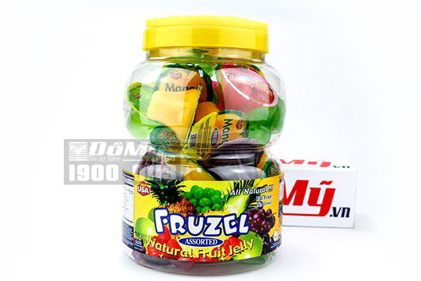 Rau câu trái cây tự nhiên Fruzel Jelly 1,45kg