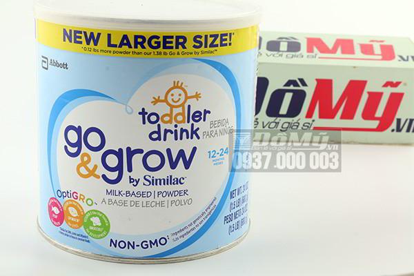 Sữa Similac Go & Grow Non-GMO dành cho bé 12-24 tháng 624g của Mỹ