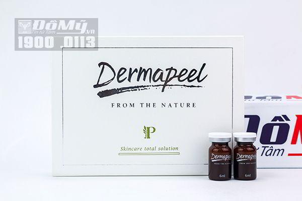 Vi kim tảo sống Derma Peel Skincare ToTal Solution 6ml x 5 Ampoule