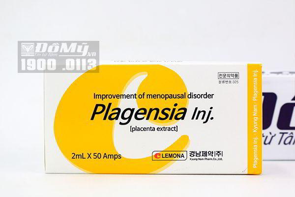 Nhau thai tươi Plagensia Inj Lemona 2ml x 50 ống Hàn Quốc