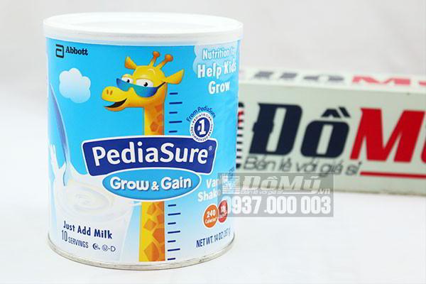 Sữa Pediasure Shake Mix hương Vanilla dành cho trẻ biếng ăn 396g của Mỹ
