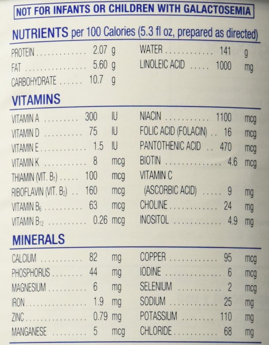 Sữa bột Similac Advance miễn dịch cho bé từ 0-12 tháng 873g của Mỹ - giá trị dinh dưỡng của sữa