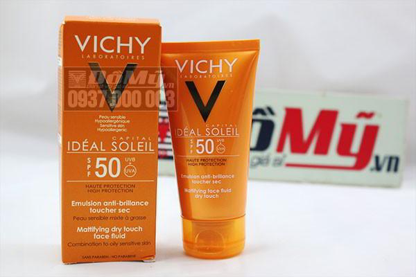 Kem chống nắng VICHY SPF 50 - 50 ml của Pháp