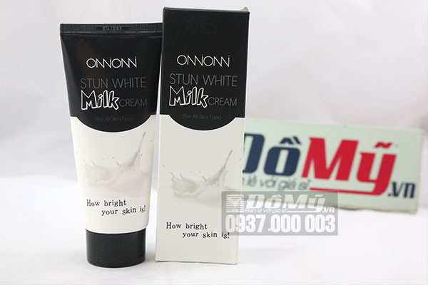 Kem dưỡng trắng da Stun White Milk Cream 100ml của Hàn Quốc