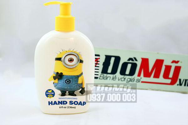 Nước rửa tay minions Moisturizing hand soap 236ml