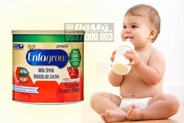 Các dòng sữa enfagrow có bị nhiễm khuẩn không