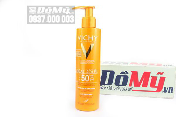 Kem chống nắng Vichy Capital  Ideal Soleil Very High Protection SPF 50+ 200 ml của Pháp.