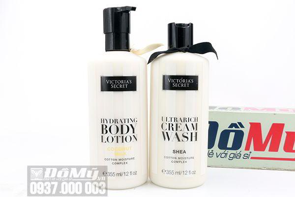 Combo tắm dưỡng Victoria's Secret 355ml của Mỹ