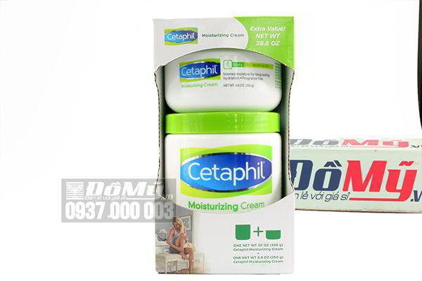 Bộ sữa dưỡng ẩm toàn thân Cetaphil Moisturizing Cream của Canada