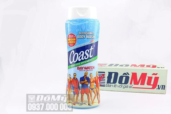 Sữa tắm gội cho nam Refreshing Body Wash Coast Bay Watch 532ml của Mỹ