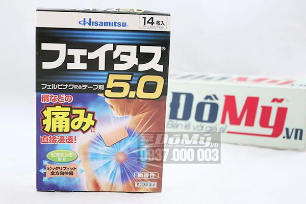 Miếng dán giảm đau nhức Hisamitsu 5.0 hộp 14 miếng của Nhật