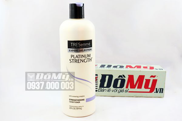 Dầu xả TRESEMME Platinum Strength của Mỹ loại 739 ml
