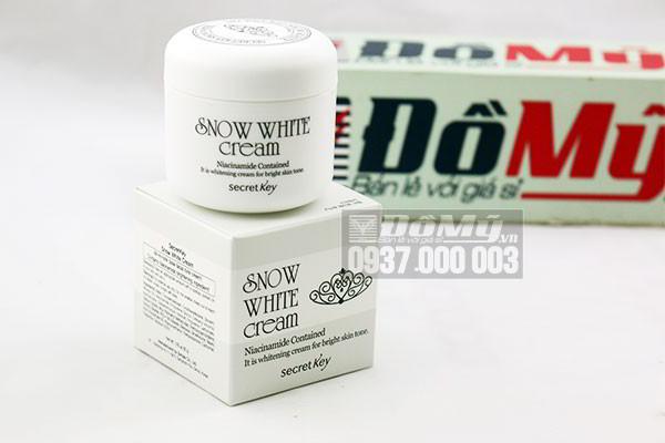 Snow white cream dùng có tốt không