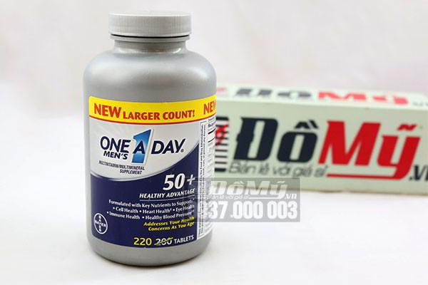 Vitamin Tổng Hợp Nam Giới Trên 50 Tuổi One A Day 200 viên nhập từ Mỹ