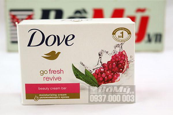 Bộ đôi Xà bông cục Dove của Đức hương lựu Dove go fresh Revive và Dove Gentle Exfoliating loại 113g