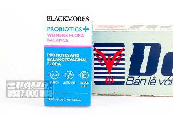Viên uống phục hồi hệ vi sinh âm đạo BlackMore Women's Flora Balance 30 viên của Úc