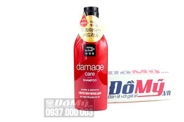 Dầu gội chăm sóc tóc hư tổn nặng Mise En Scene Damage Care Shampoo 530ml của Hàn Quốc