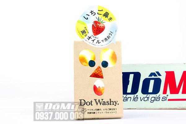 Xà phòng trị mụn đầu đen mũi Dot Washy Facial Social 75g của Nhật Bản