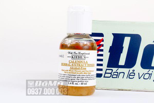 Nước hoa hồng hoa cúc Kiehl's Calendula Herbal Extract Alcohol – free 40ml của Mỹ