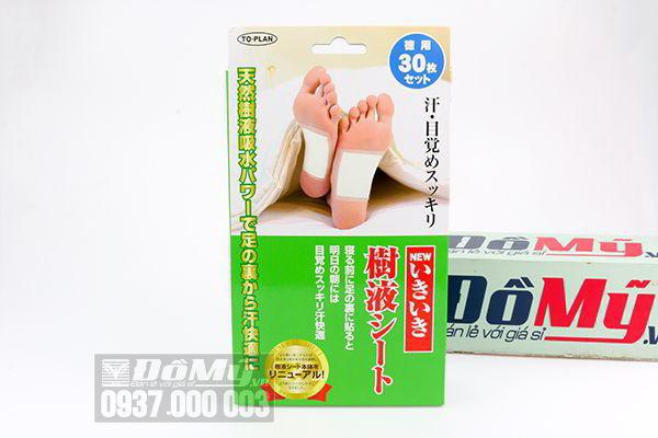 Miếng dán chân khử độc tố Kenko của Nhật Bản
