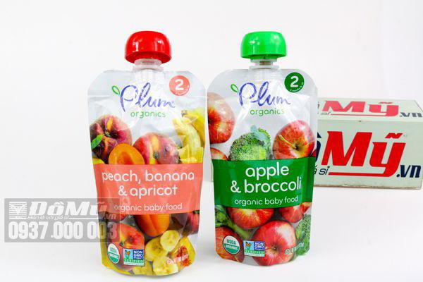 Nước trái cây và rau củ Plum Organics cho bé của Mỹ