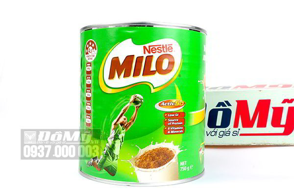 Sữa bột Milo Nestle 750g của Úc