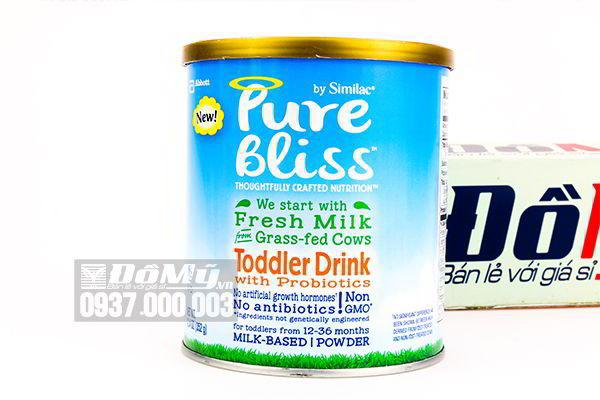 Sữa Similac  Pure Bliss Non – GMO Toddler Drink 352g dành cho bé từ 12 – 36 tháng của Mỹ