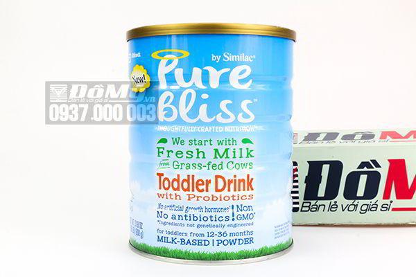 Sữa Similac  Pure Bliss Non – GMO Toddler Drink 900g dành cho bé từ 12 – 36 tháng của Mỹ