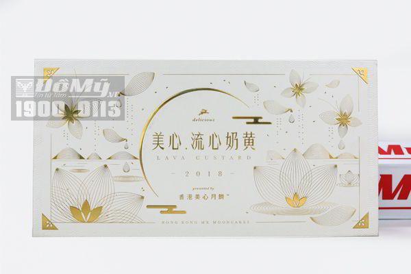 Bánh trung thu LAVA HONG KONG - 8 cái/hộp