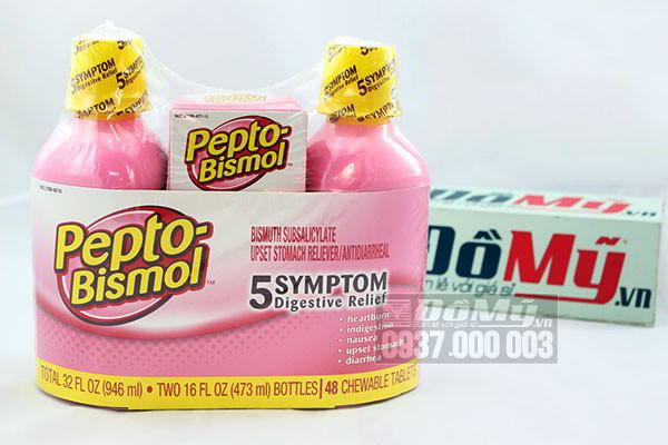 Combo chuyên trị tiêu hóa dạ dày Pepto Bismol của Mỹ