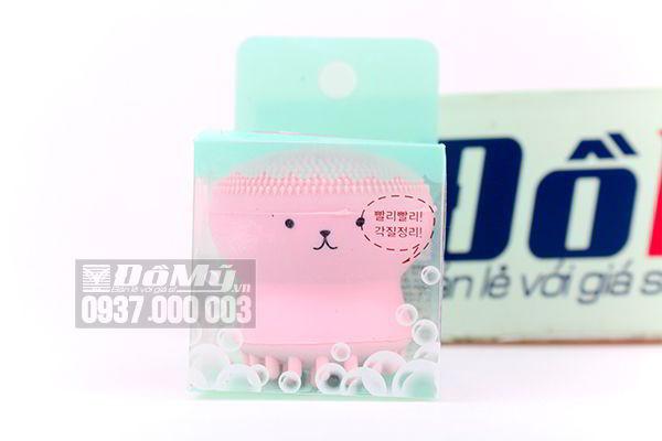 Cọ rửa mặt và Massage Bạch tuột Etude House My Beauty Tool Jellyfish Silicon của Hàn Quốc