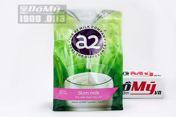 Sữa tươi tách béo dạng bột A2 của Úc