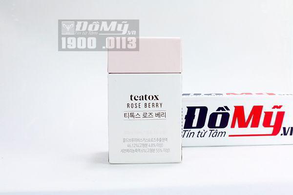 Nước uống giảm cân đẹp da Teatox 10 ml*30 gói