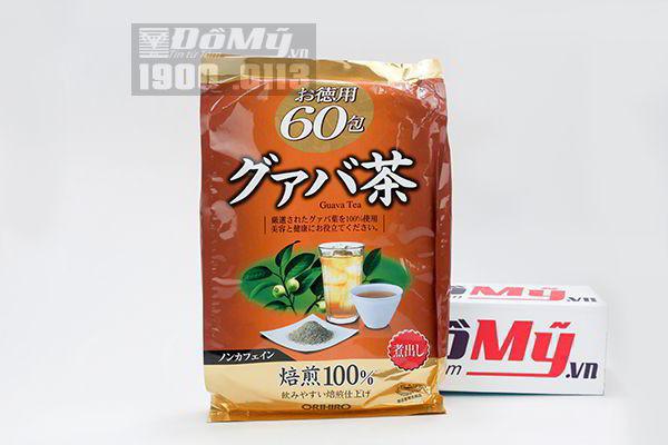 Trà giảm cân tinh chất lá ổi Orihiro Guava Tea Nhật Bản
