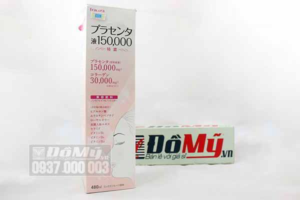 Nước uống nhau thai cừu Fracora Placenta của Nhật Bản 150000mg loại 480ml