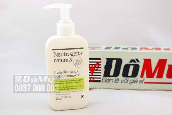 Sữa Rửa Mặt & Tẩy Trang Neutrogena Naturals Fresh Cleansing Makeup Remover 177ml từ Mỹ