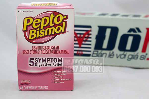 Thuốc trị đau dạ dày bismuth subsalicylate của Mỹ loại 48 viên