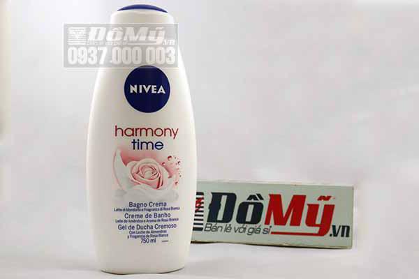 Bộ sưu tập sữa tắm Nivea của Mỹ loại 750ml