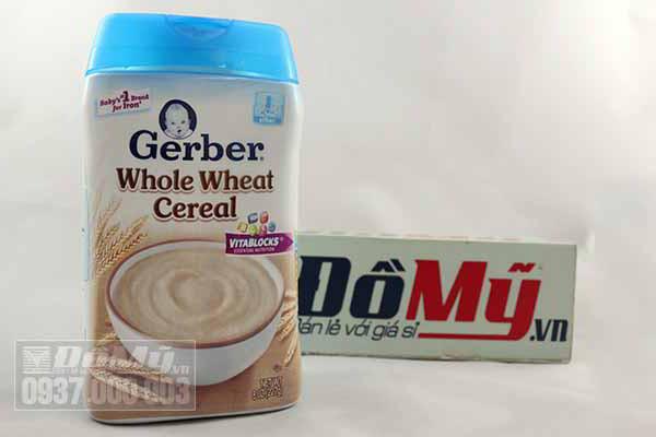 Bột ăn dặm gerber 227g từ Mỹ