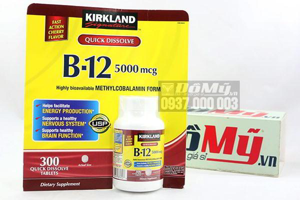 Vitamin B12 Kirkland Signature™ (5000 mcg) 300 viên