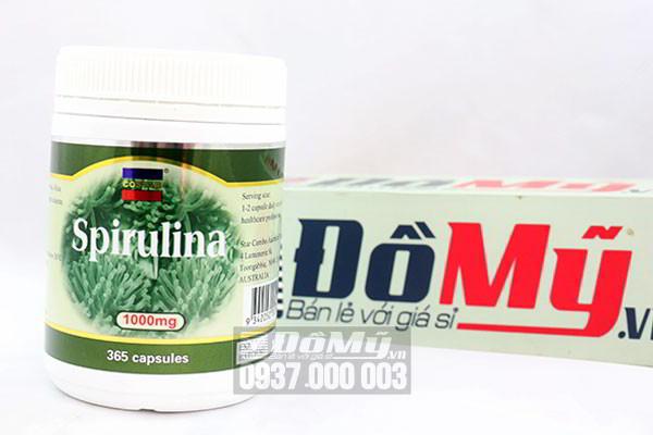 Viên uống chống lão hóa tảo biển Spirulina Costar 1000mg 365 viên của Úc