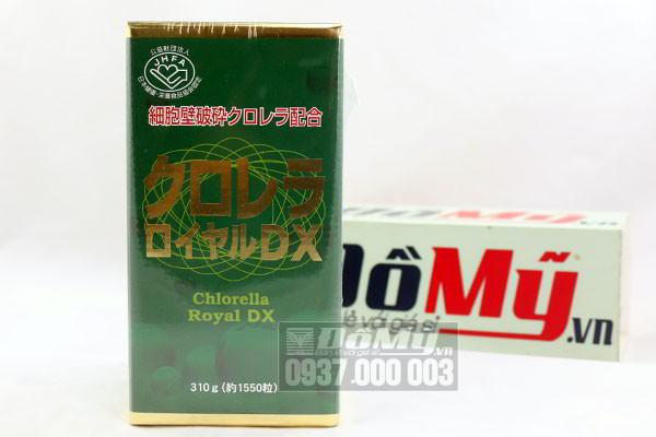 Tảo xoắn Chlorella Royal DX Nhật Bản 1550 viên 5