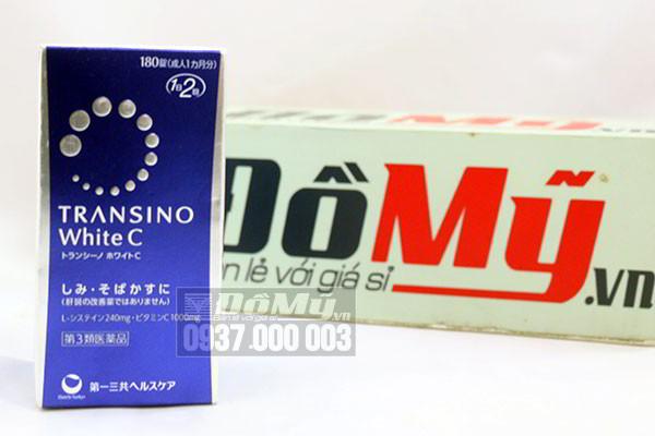 Viên uống trị nám và trắng da Transino White C 180 viên của Nhật Bản