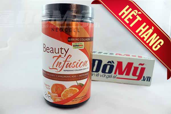Bột Neocell Collagen Beauty Infusion Hương Cam 450g nhập từ Mỹ