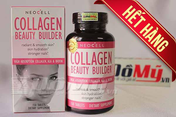 Viên uống bổ sung Collagen Beauty Builder Neocell 150 viên của Mỹ