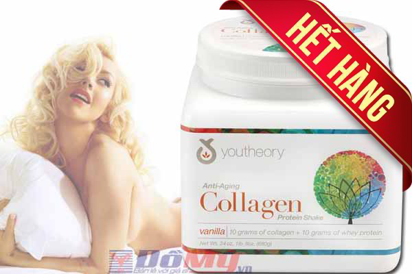Collagen Youtheory™ Anti-Aging Collagen Protein Shake 680g của Mỹ