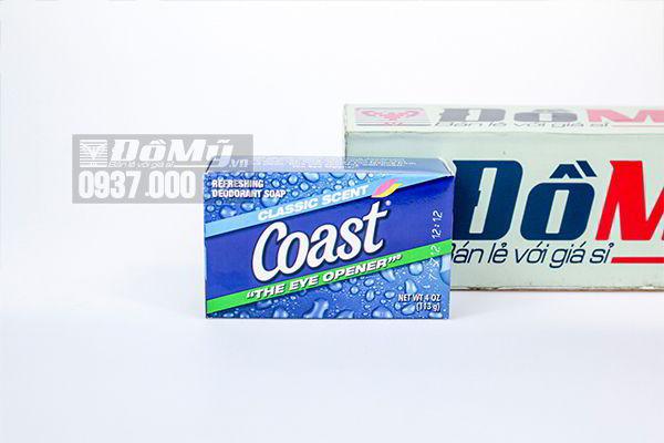 Xà Bông cục sạch da Coast 113g của Mỹ