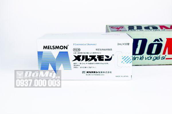 Nhau thai tế bào gốc Melsmon Placenta 50 ống của Nhật Bản